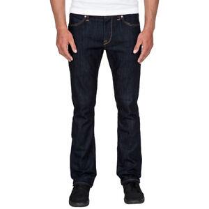 Volcom VORTA DENIM Jeans Rinse Blue Blau NEU NEW 26 - 38 Inch PORTOFREI