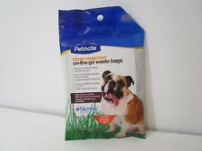 Petmate, 71071, 30 Count Clean Response On-The-Go Handle-Tie Waste Bags, New