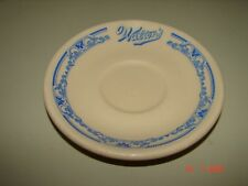 Two 1940s Walton's Lunch Restaurant Saucer Dishes From Boston Braves Field, INCA