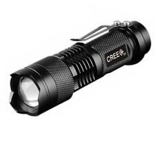 7W 2000LM 3Mode Mini Zoom In/Out Q5 LED 14500/AA Flashlight Torch Camping Light