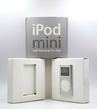  Apple iPod Mini 2nd Generation 4gb Silver New Battery Collector's ★★★★★