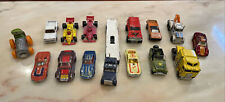 Lot Of 15 Vintage Diecast Cars Trucks - Matchbox, Hot Wheels, Majorette, Yatming