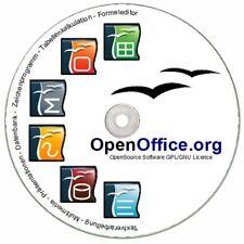 OPENOffice PREMIUM CD für Windows 7 Vista XP 8 Open Office NEU Büro Software NEU
