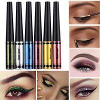 Waterproof Glitter Liquid Metallic Eyeliner Liquid EyeShadow Shimmer Eye Shadow