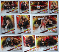 2019 Topps WWE SummerSlam Ronda Rousey Spotlight Wrestling Cards U Pick 21-30