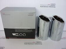 Original Audi Endrohrblenden /Auspuffblenden Audi Q3, doppelt,8U0071761-NEU/OVP-