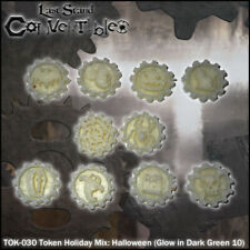 LAST STAND CONVERTIBLES BITS COUNTERS - HALLOWEEN MIX GLOW IN DARK TOKENS (10)