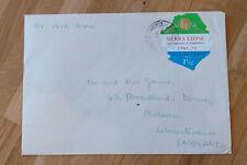 Sierra Leone airmail self adhesive on cover