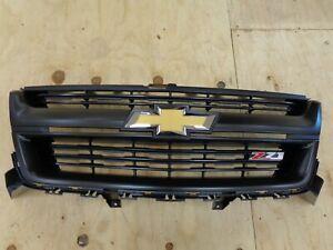 2015-2020 Chevrolet Colorado Z-71 Grille OEM New Take Off # 8440836 #184244052