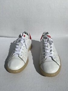 Adidas Stan Smith  Endorsed by stan smith white fur Red 8 Us