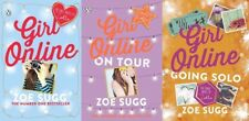 Girl Online 3 Book Set Collection by Zoe (zoella) Sugg - on Tour Going Solo