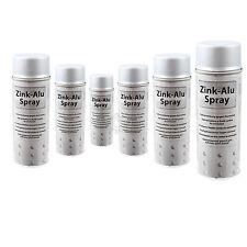 6x Zink Alu Spray Zinkspray Grundierung Korrosionsschutz 400ml ISN