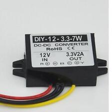 DC12V 6-22V Step Down 3.3V 2A Converter Module Buck Car Power Adapter Waterproof