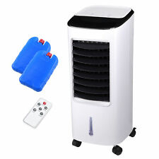 Portable Air Conditioner Cooler Water Cooling Fan Humidifier w/ Remote Control