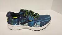 Brooks Ghost 12 Running Shoes, Midnight/Multi, Women's 10.5 M