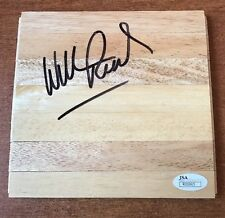 WILLIS REED Autographed Floorboard with JSA COA WOW LEGEND