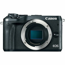 New Canon EOS M6 Mirrorless Digital WiFi NFC Bluetooth Camera - Body Only Black