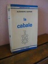 Alexandre Safran : La CABALE
