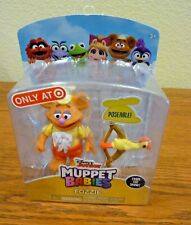 Muppet Babies Disney Junior Fozzie Bow and Arrow Poseable Figure Toy Sealed NIP