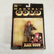Black Widow (Toybiz, 1998) Marvel's Gold Collector's Edition Action Figure, NIP