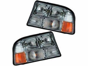 Headlight Assembly Set For 98-04 GMC Oldsmobile Sonoma Bravada YZ64F5