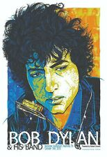Bob Dylan and His Band Mini Concert Reproduction Poster archival quality