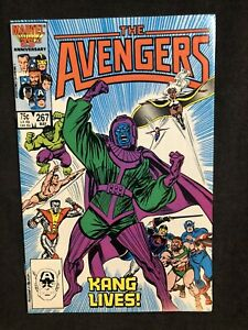 AVENGERS #267 IST App Council Of Kangs Ravonna Renslayer Loki Marvel Comics 1986