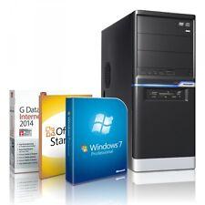 PC Computer GAMER A8 Quad Core 16GB RAM SSD RADEON HD7560 Windows 7 Pro 64bit
