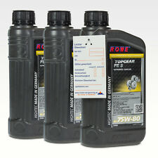 3 (3x1) litros rowe accesorio TopGear fe SAE 75w-80 s