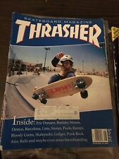 Thrasher Skateboard Magazine August 1996 Eric Dressen BIG Al Petersen 8/96 Aug