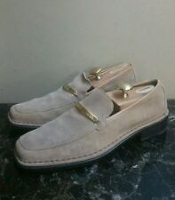 GUCCI SUEDE LOAFERS Size 10.D
