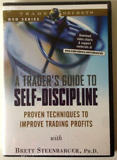 A TRADER'S GUIDE TO SELF-DISCIPLINE by Brett Steenbarger * Stock Trading DVD *