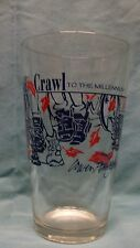 Pepsi Logo ~ Annual Fall Crawl Irwin, PA ~ Into the Millennium '99 ~ 16 oz Glass