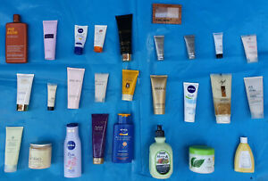 SELECTION OF LADIES TOILETRIES HAND-BODY-FOOT-TANNING-SUN PROTECTION - FREE POST