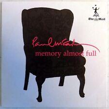 Paul McCartney -Memory Almost Full -UK Mail On Sunday Promo CD-Card Sleeve -New