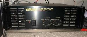 Yamaha Endstufe P 2500 nur im Studio verwendet