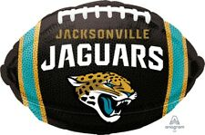 """Lot of 5 Jacksonville Jaguars Football 18"""" Balloons Birthday Party Decorations"""