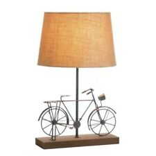 Set Of 2 Old Fashion Bicycle Table Lamp