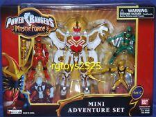 "Power Rangers Mystic Force 6"" STEEDERGON FURY Megazord Mini Set New Factory Seal"