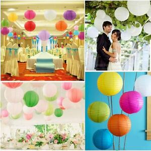 Chinese Paper Lantern Pack of 10 for birthday,Xmas and party decoration-16''