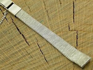 Seiko Vintage Watch Band Butterfly Clasp Stainless 10mm NOS Unused Bracelet