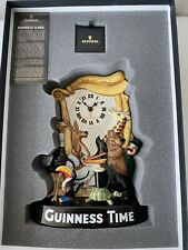 More details for rare royal doulton guinness 250th anniversary clock - mcl26 - bnib / new