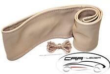 Lenkradschoner zum Schnüren Leder Beige passend für Mercedes Actros MP2 MP3 MP4