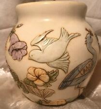 Harmony Ball - Jardinia Morning Chorus Birds Flowers cachepot Retired