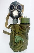Gas Mask Gp-7 Black Soviet Russian Original full set size 1