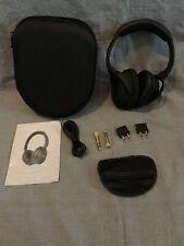 EFOSHM Noise Cancelling Headphones Used, VGUC + adapters FS Benefits Charity