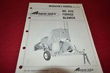 New Idea 620 Forage Blower Operator's Manual BVPA