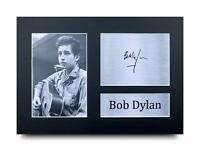 Bob Dylan Signed Pre Printed Autograph Photo Gift For a Blues Fan