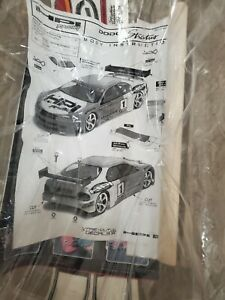 VINTAGE HPI 7316 DODGE STRATUS BODY 190MM RS4 4 FITS MOST BRANDS TOURING CARS !!