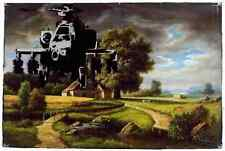 Banksy Helicopter 1 A4 10x8 Photo Print Poster